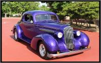 1935 Olds 3 Window Coupe Street Rod