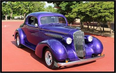 1935 Oldsmobile 3 Window Coupe Street Rod