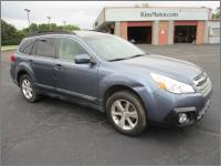 2014 Suba Outback 2.5I Limited